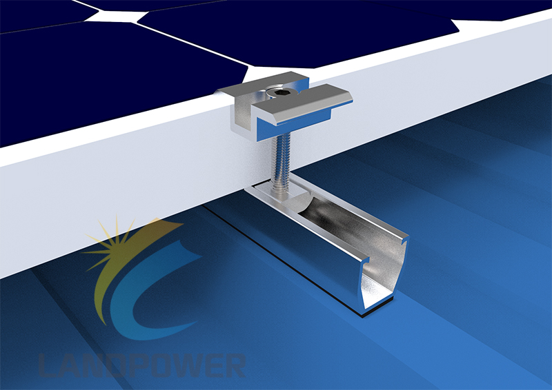 Trapezoidal Roof Mounting systems
