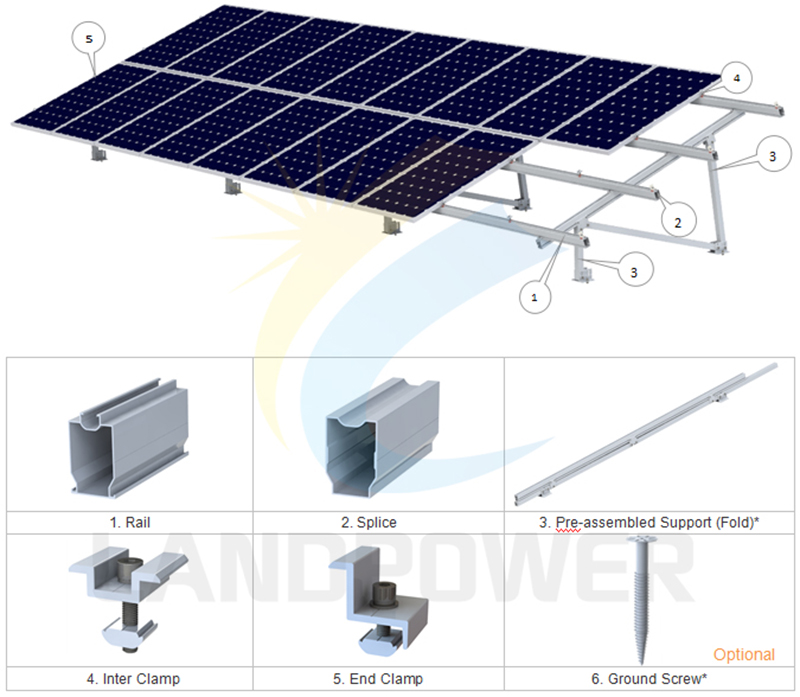 solar ground mounting