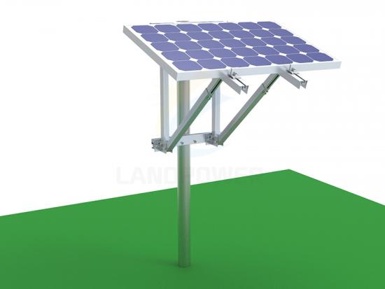 solar pv side of pole mount